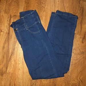 3/$20 Super high waist straight leg jeans.